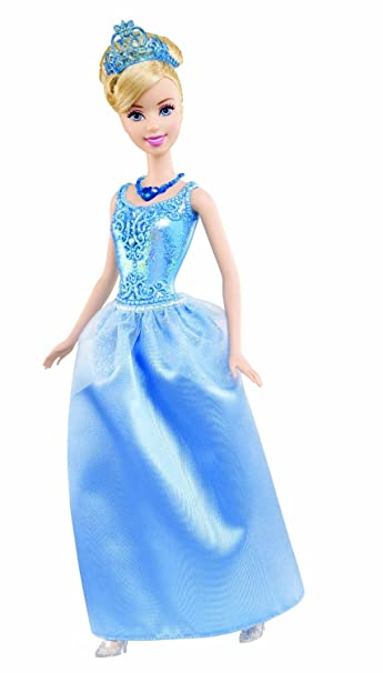 Disney Princesses - X9334 - Poupée - Cendrillon Paillettes