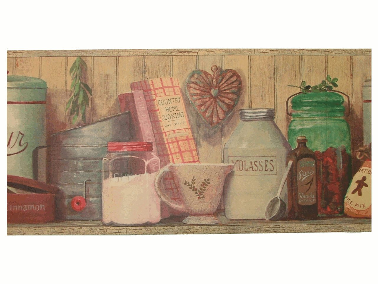 country kitchen wallpaper borders best wallpaper background