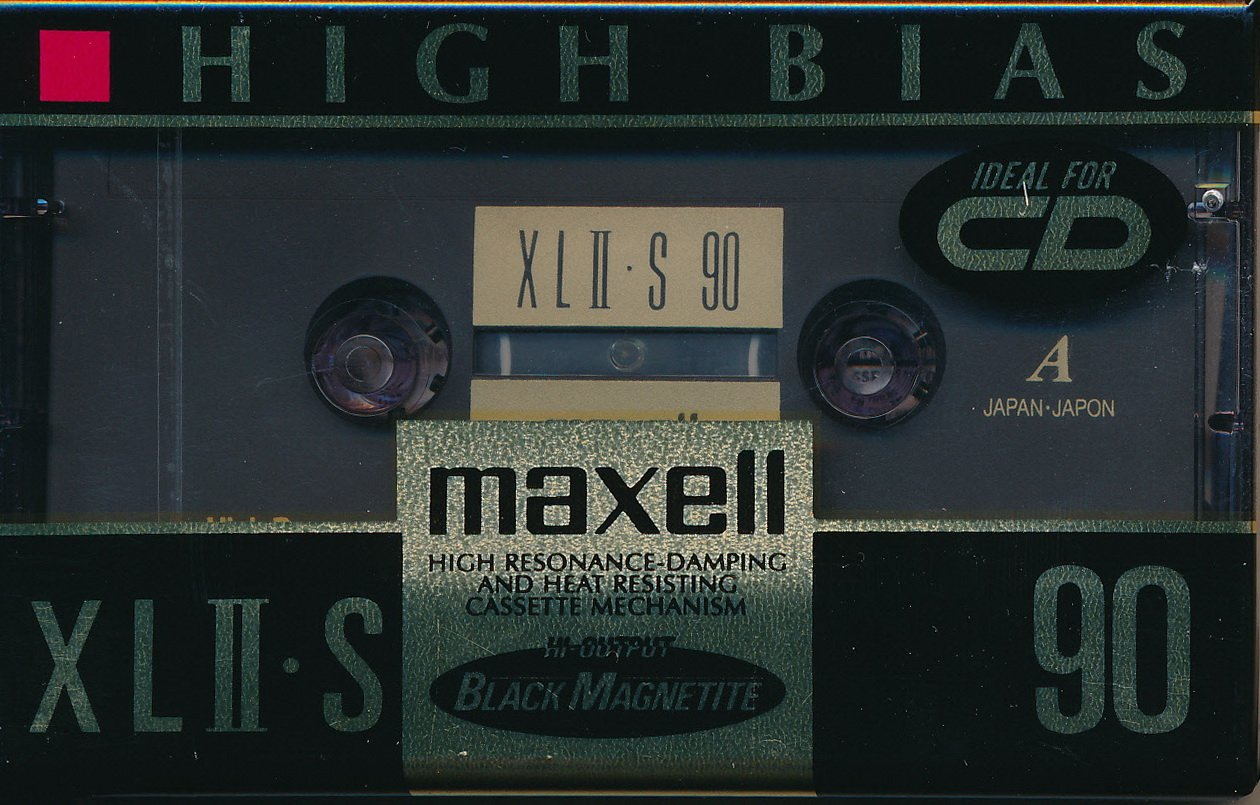 Maxell XLII-S 90 Minute Audio Cassette Tape 0