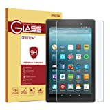 All-New Fire 7 Kids Edition / Fire 7 Screen Protector (2017 Release) - OMOTON Tempered Glass Screen Protector for All-New Fire 7 Kids Edition / Fire 7 Tablet with Alexa (2017 Release)