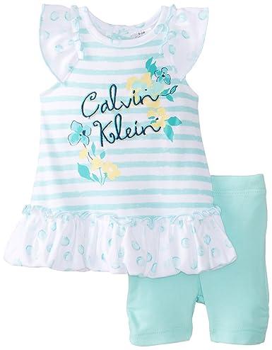 Calvin Klein 女宝清新舒爽透气半袖套装 特价.99 - 第1张  | 淘她喜欢