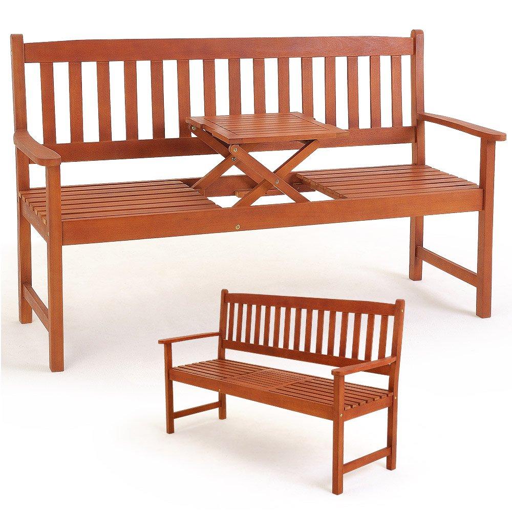 Gartenbank PICKNICK klappbarer Tisch BANGKIRA
