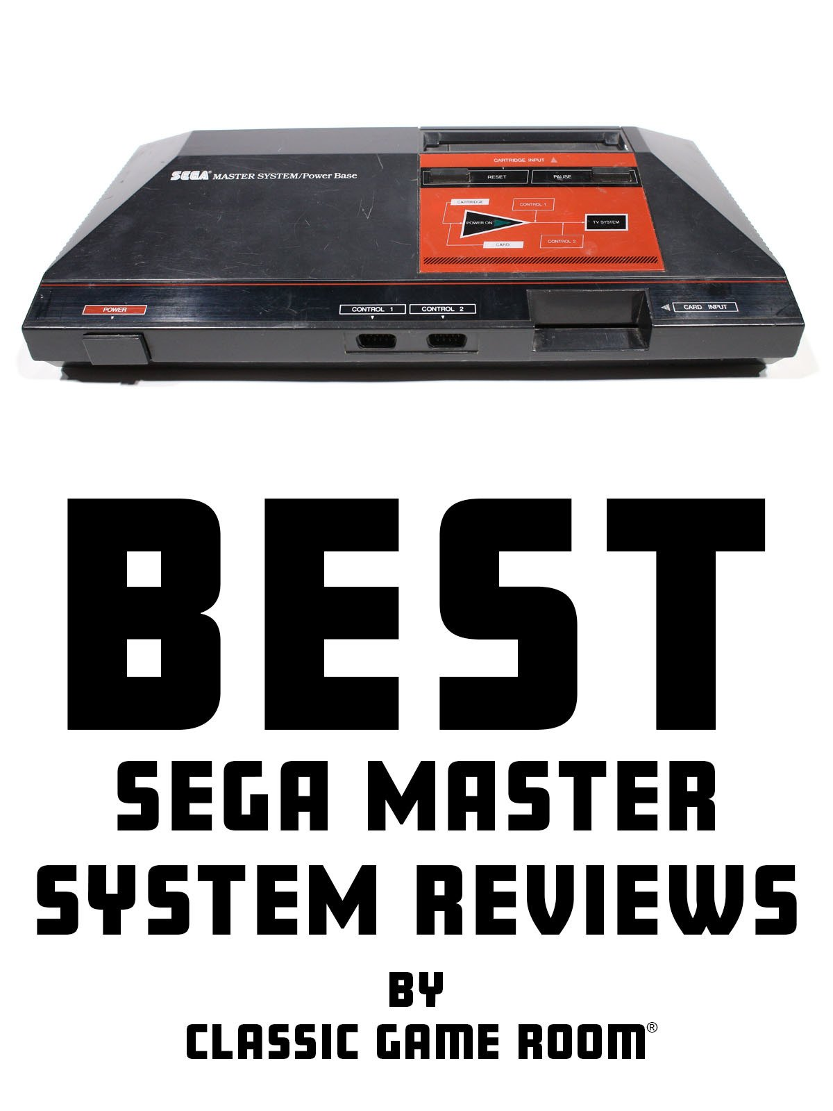 Best Sega Master System Reviews by Classic Game Room