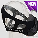Elevation Training Breathing Workout Mask 4.0 - Cardio Equipment, Running, Fitness and Exercise Device for High Altitude, Oxygen, Elevation, Resistance and Breathing Training (Color: Black)