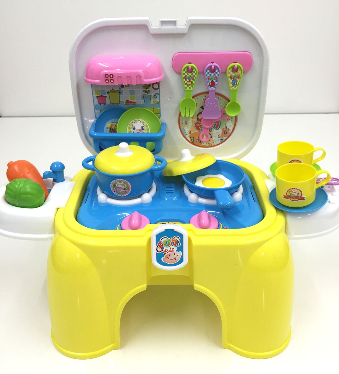 Step 2 Toy Food : In kids kitchen play set toy plastic step stool
