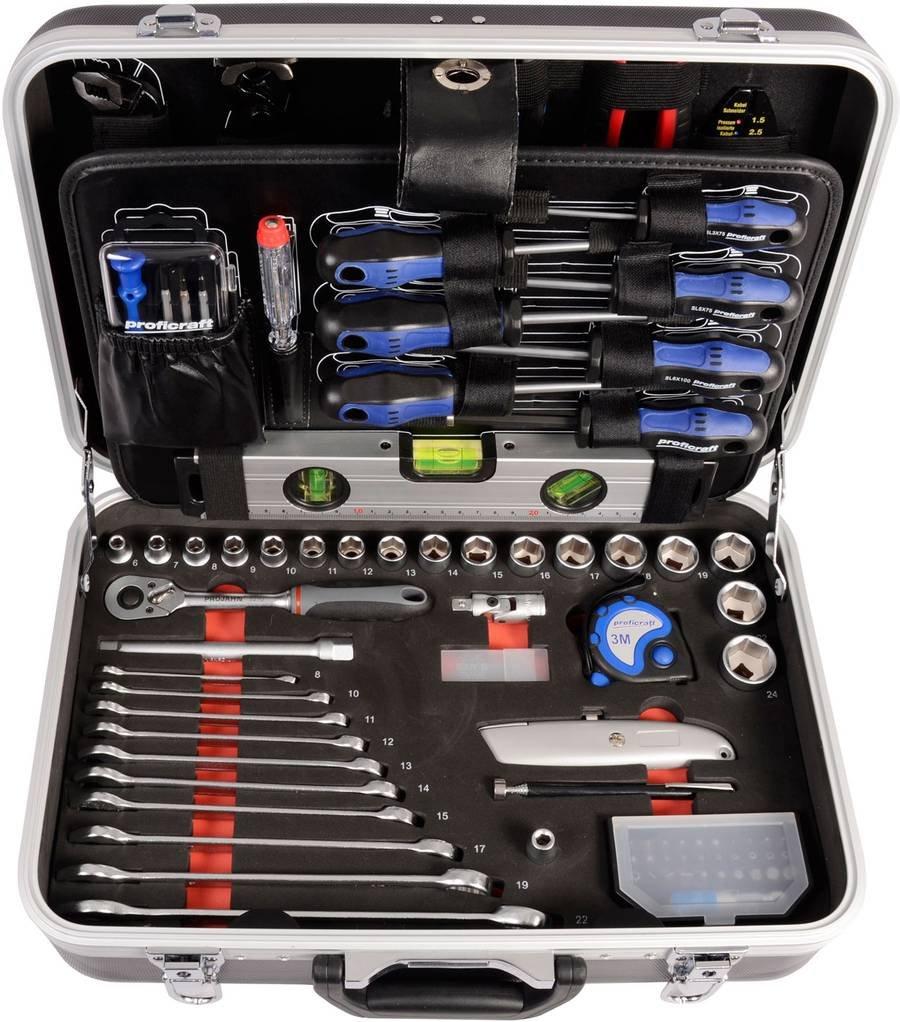 Projahn Werkzeugkoffer Set 164teilig proficraft 8682  BaumarktÜberprüfung und Beschreibung