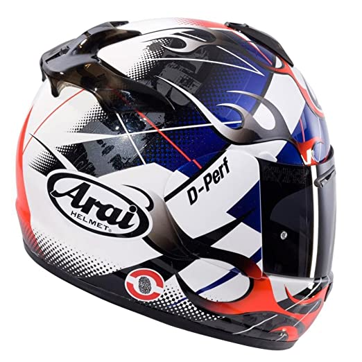 New 2015 ARAI CHASER-V ALLOY Motorcycle Helmet In BLU/Red/White/Black