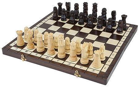 Albatros 2901 Towers Jeu d'échecs en bois 50 x 50 cm