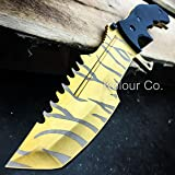 CS GO Fixed Blade HUNTSMAN KNIFE Hunting Tactical Bowie Survival - TIGER TOOTH DOPPLER (Limited Edition)