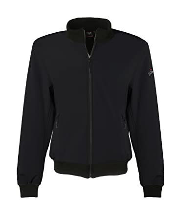 Scotland 140005-nr-xxl Gilet Scooter / Moto Shell Jacket, Noir