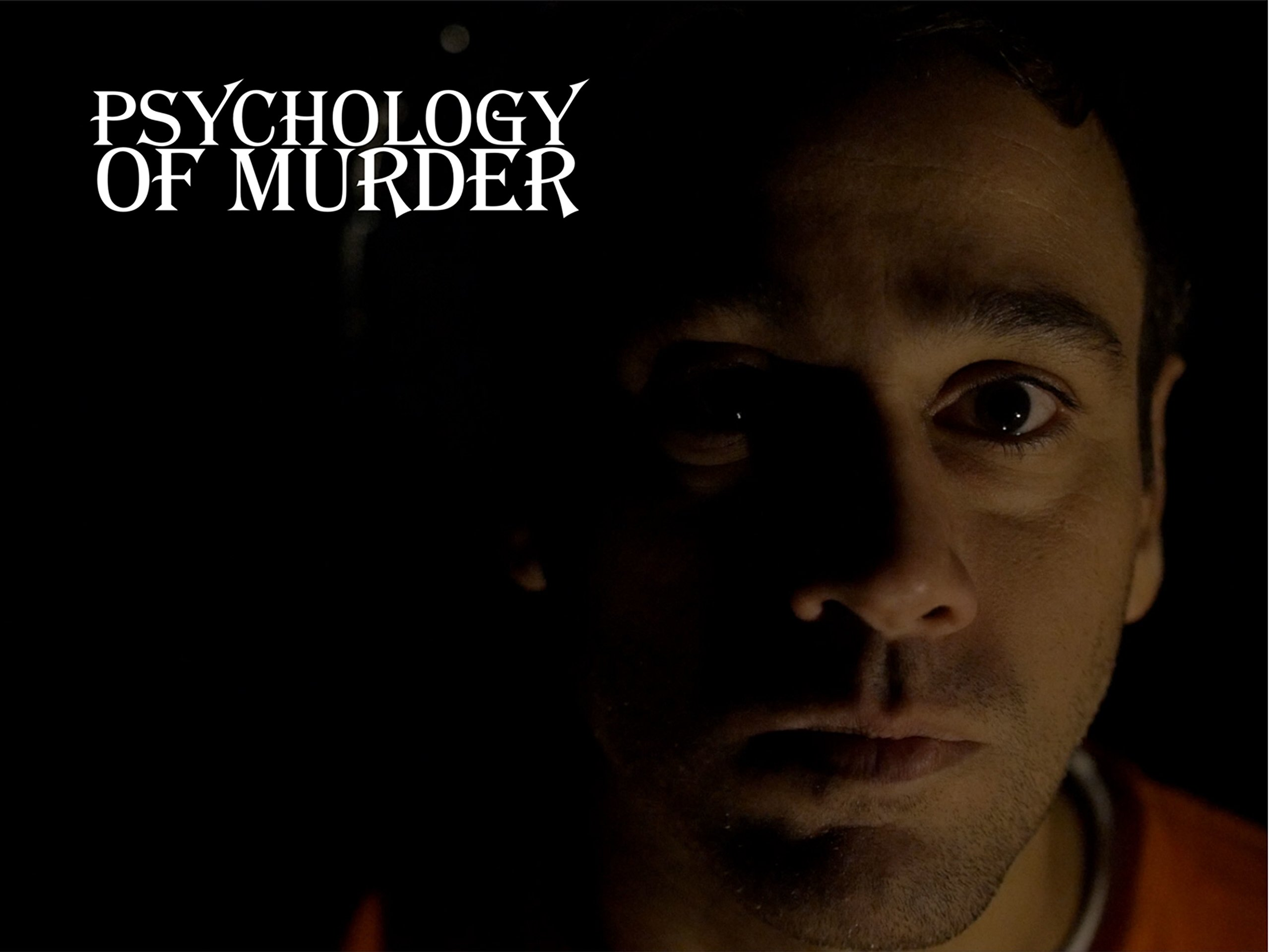 Psychology of Murder on Amazon Prime Video UK