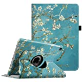 Fintie iPad Pro 9.7 Case - 360 Degree Rotating Case with Smart Stand Cover Auto Sleep/Wake Feature for Apple iPad Pro 9.7 inch (2016 Version), Blossom (Color: ZA-Blossom, Tamaño: 9.7 Inch)