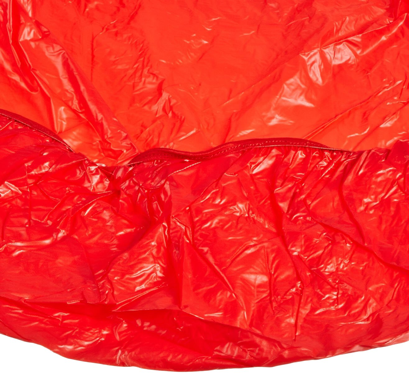 Kwik-Cover 1872-R 18'' X 72'' Kwik-Cover- Red Fitted Table Cover (1 full case of 100)