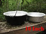 Disposable Foil Dutch Oven Liner, 12 Pack 10 4Q liners, No more Cleaning, Seasoning your Dutch ovens. Lodge, Camp Chef.