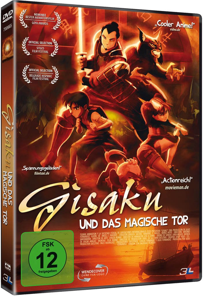 Gisaku und das magische Tor