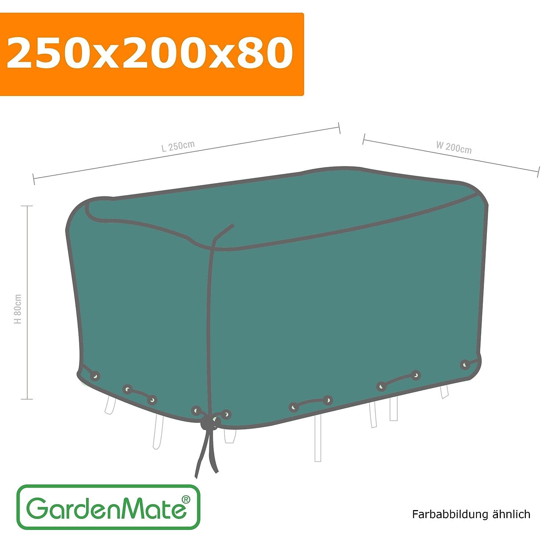 GardenMate Schutzhülle für Gartenmöbel, 120gsm PE Gewebe, 250x200x80cm günstig kaufen
