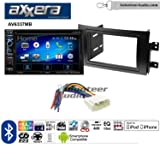 Volunteer Audio Axxera AV6337MB Double Din Radio Install Kit with Bluetooth CD/DVD Player Fits 2007-2013 Suzuki SX4