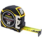 STANLEY FMHT33338L 1-1/4-Inch Auto Lock Tape Measure (Color: Black/Yellow, Tamaño: 25')