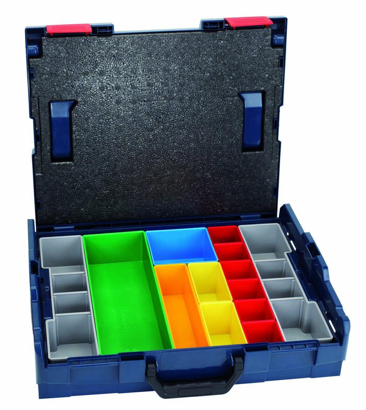 BOSCH LBoxx 102 Set, 13teilig, 445 x 357 x 117 mm, 2608438023  BaumarktÜberprüfung und weitere Informationen