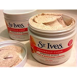 St. Ives Apricot Scrub Naturally Clear Blemish and Blackhead Control, 10 Ounce (Pack of 2) $5.78