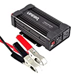 Power Inverter Converter,Upeor 1000W 12V DC to 110V AC Modified Sine Wave Car Power Inverter Converter with Alligator Clips Cable (Color: 1000W, Tamaño: 1000W)