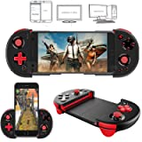 Ronda Game Controller for Phone , Ipega PG-9087 Wireless Controller Joystick Joypad For PC / Android / IOS (Color: Black Red)