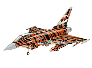 Revell Model Set - 63970 - Eurofighter Bronze Tiger - 63 Pièces - Echelle 1/144