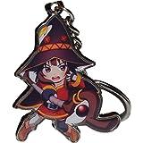 GB Arts KonoSuba Megumin Metal KeyChain Pendant (Color: Megumin)