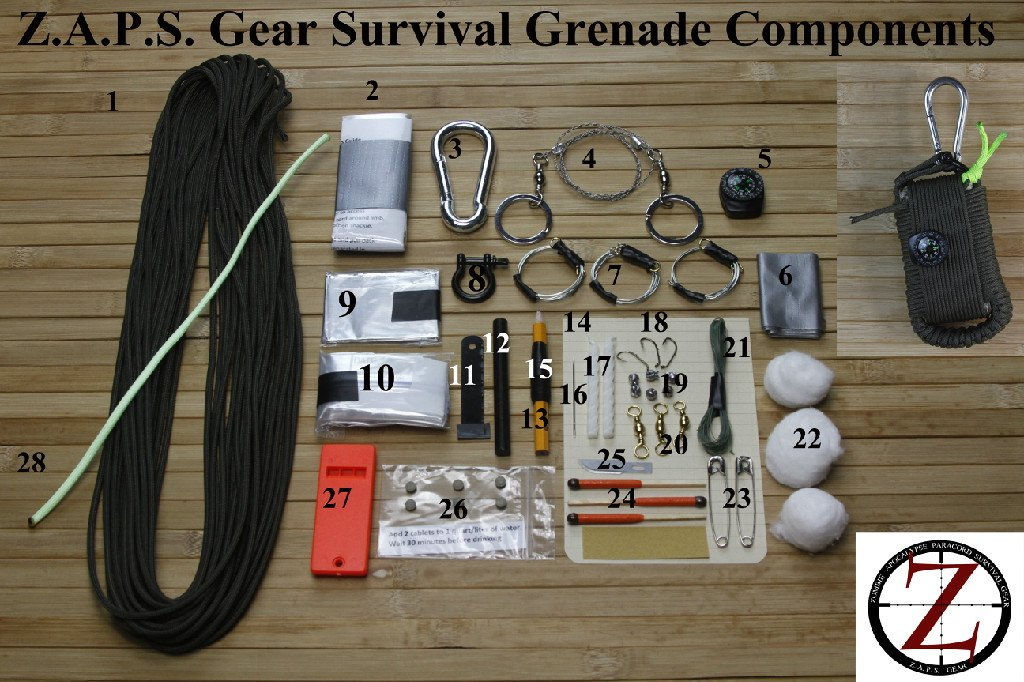 ZAPS Gear Survival Grenade