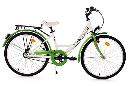 "KS Cycling Bellefleur Vélo Enfant Vert 24"""