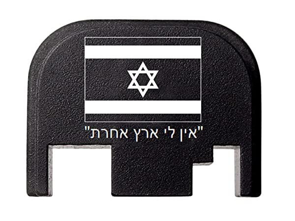 FIXXXER Rear Cover Plate for Glock (No Other Country Design) Fits Most Models (Not G42, G43) and Generations (Not Gen 5)
