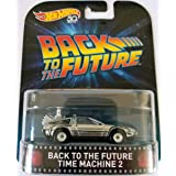 Hot Wheels Mattel Real Riders Retro Entertainment Series - Back to The Future Time Machine 2