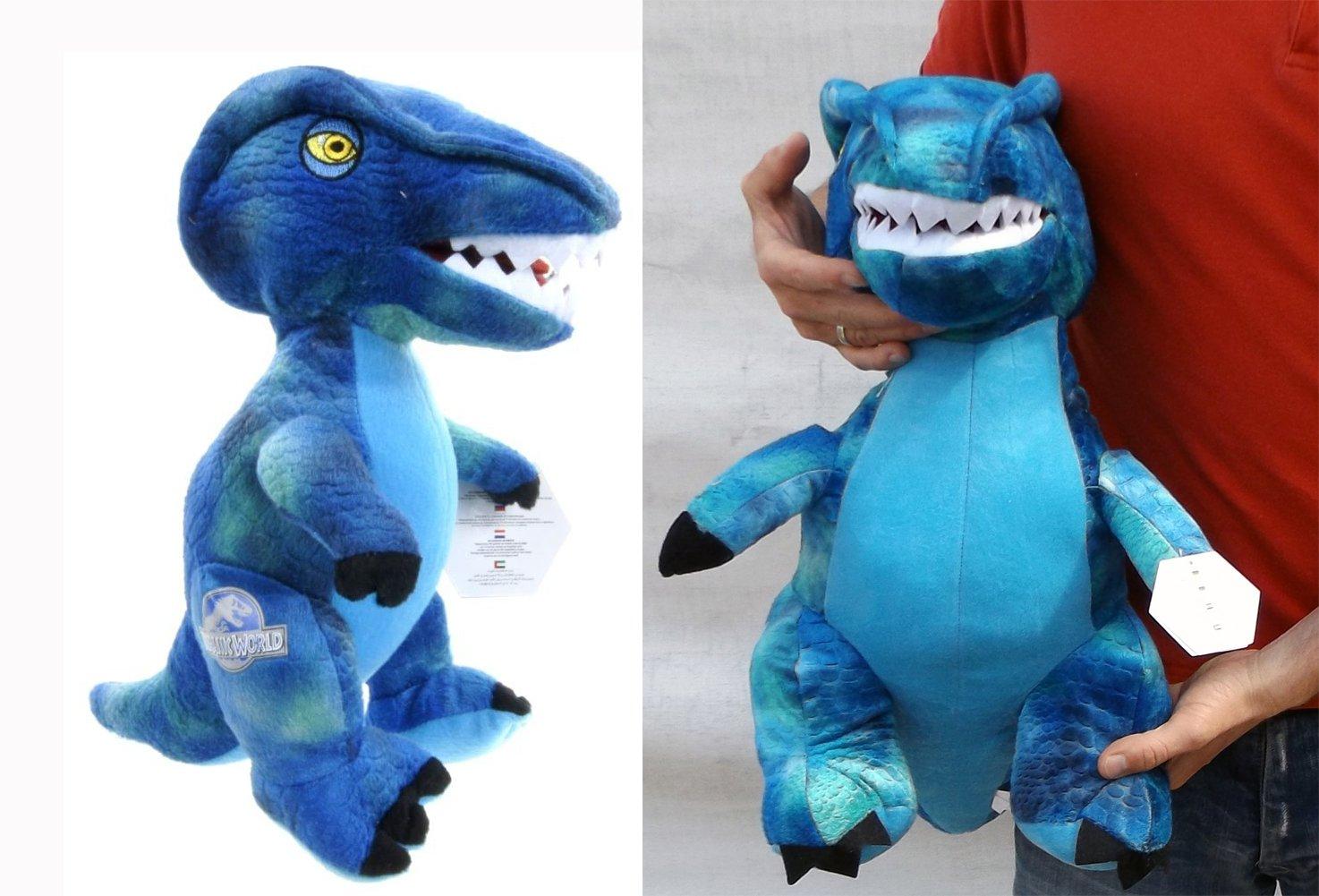 Brigamo 24016- Jurassic World© blauer Velociraptor Plüsch DINOSAURIER IN XL GRÖßE! kaufen