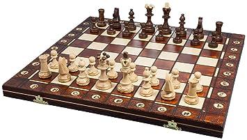 Albatros 2479 - Jeu d'échecs en bois Da Vinci, 42 x 42 cm