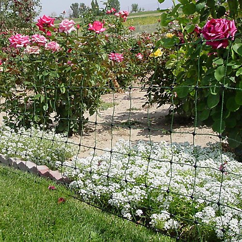 Electric Net Garden With Stake 100 Ft