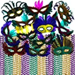 Mardi Gras Beads & Feather Masks Part...