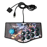 HITSAN USB Fight Arcade Joystick Gamepad Rocker Game Controller For PS3 Android PC One Piece