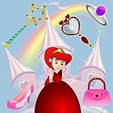 Jeux pour les petites filles - les princesses : découvrir la vie d'une princesse ! Jeux de puzzle éducatif pour les enfants...