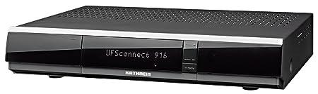 Kathrein UFSconnect 916 Twin HDTV Satellitenreceiver (CI, Linux, PVR-Ready, 3x USB, Netzwerk/UPnP, WLAN integriert) schwarz