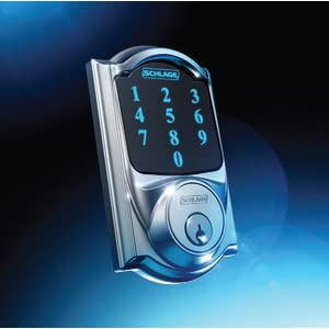 Schlage BE469NX Touchscreen Deadbolt