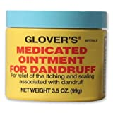 Glovers Medicated Ointment for Dandruff 3.5 oz (Pack of 6) (Tamaño: Pack of 6)