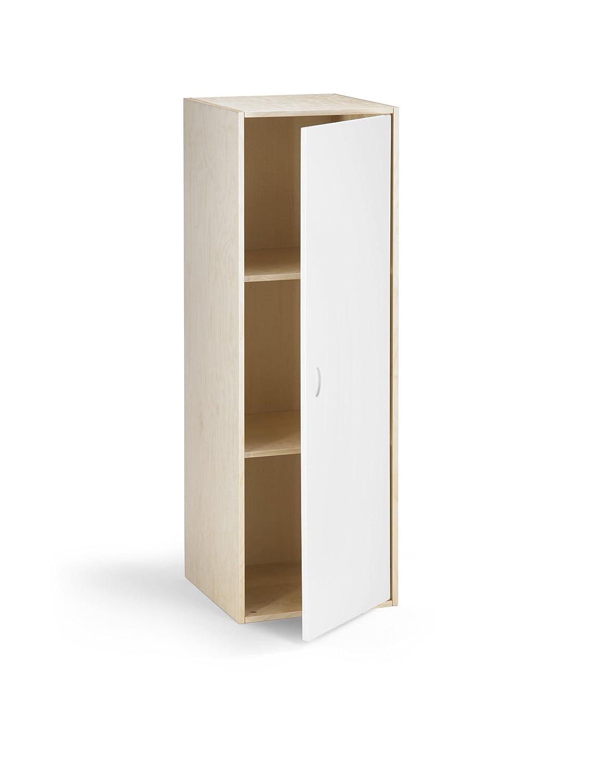 Hochwertiger Kombi Regalschrank aus Birke Multiplex mit Echtholzfurnier, Türen & Schubladen optional, für Kinderzimmer, Büro, Garderobe… kaufen