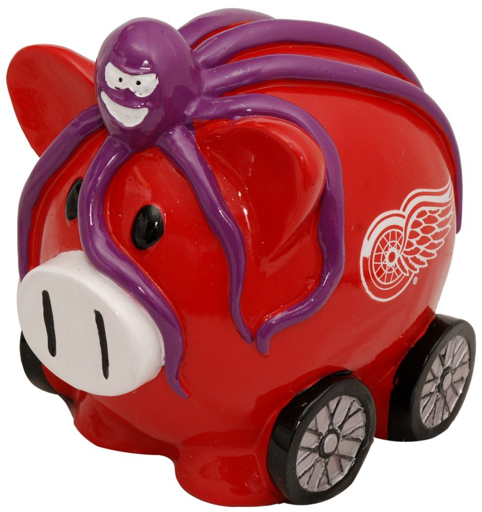 Детская копилка Detroit Red Wings 8 inch Thematic Piggy Bank