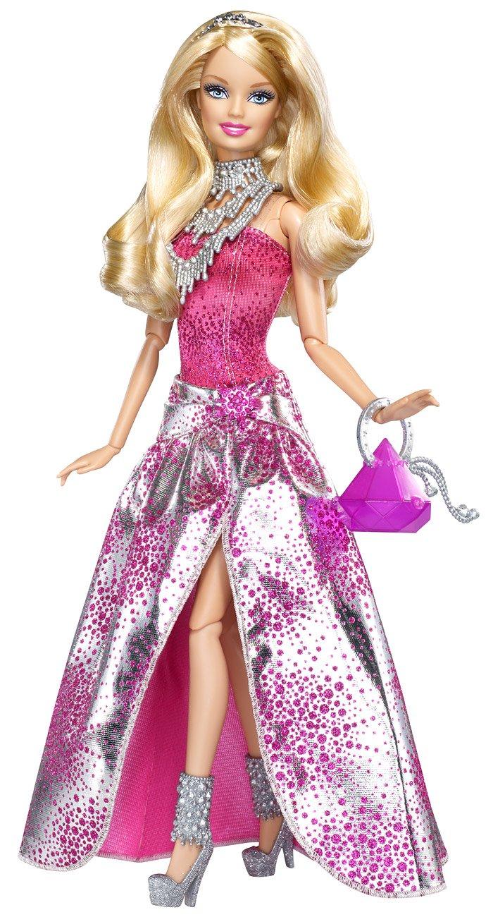 Mattel V4390 – Barbie Fashionistas Hollywood Divas, Puppe Glam günstig