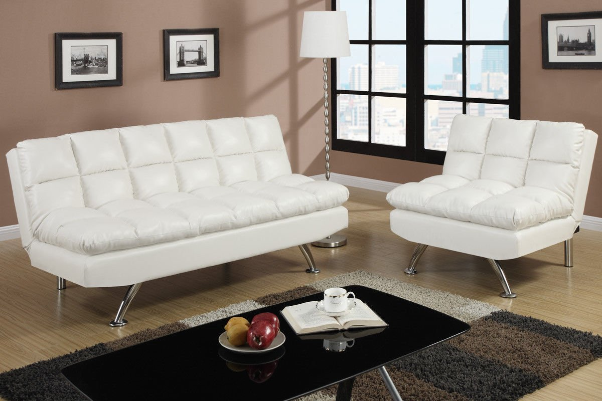 Poundex Sofa F7015 & 7016