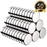 FINDMAG Premium Pack 50 Brushed Nickel Pawn Style Magnetic Push Pins,Perfect to use as Fridge Magnets, Office Magnets, Dry Erase Board Magnetic pins, Whiteboard, Map Pins