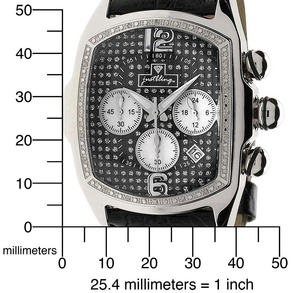 Đồng hồ JBW Mens JB-6113-E Caesar Combo Dark Stainless Steel