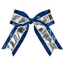 Metallic 2 Color Cheer Hair Bow