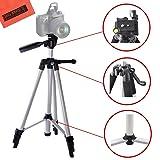 Lightweight 57-inch Camera Tripod For Canon EOS Rebel T3, T3i, T4i, T5, T5i T6i, T6s, T7, T7i, EOS 60D, EOS 70D, EOS 80D, EOS 5D Mark III, EOS 6D, EOS 7D, EOS 7D Mark II, EOS-M, EOS-M3 Digital Cameras