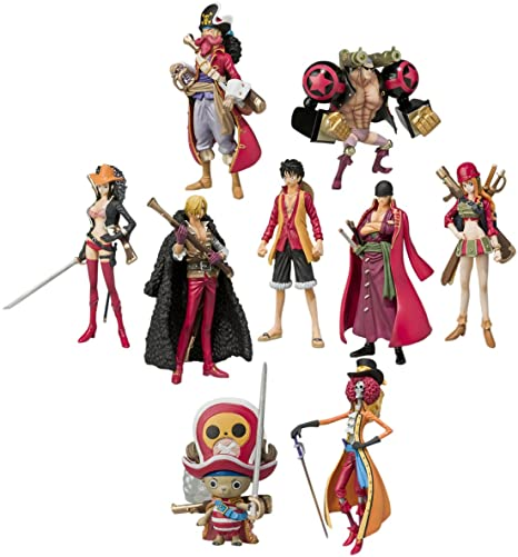 Bandai - Figurine - One Piece -Pack de 8 Trading Figures Film Z - 4543112781888